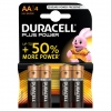 Pilas Duracell Alcalina Plus Power LR6 AA (Blister 4u)