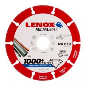 Disco diamante corte metal 125mm Lenox 2030866