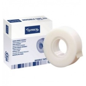 Celo - cinta adhesiva invisible Lyreco 19mm x 33m