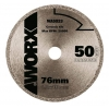 Disco corte diamante 76mm Worx WA5033