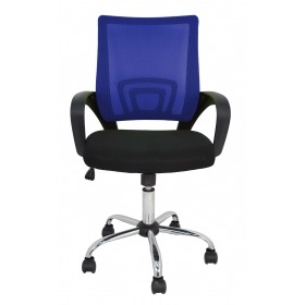 Silla oficina Colors Furniture Style azul