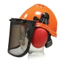 Kit forestal casco + pantalla + protector auditivo