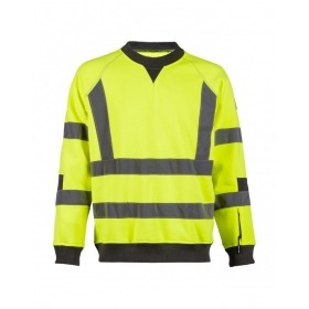Sudadera North Ways 1222 Neon amarilla