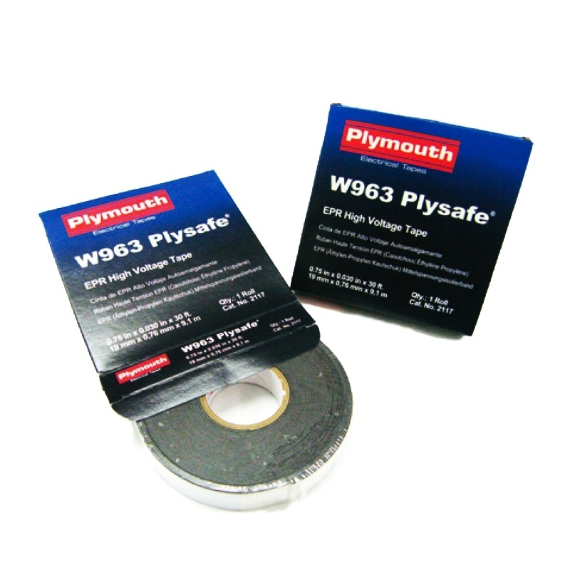 Cinta autosoldable 19mm x 9,1m Plymouth W963